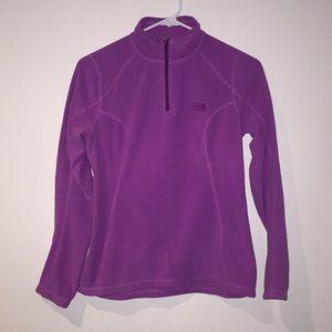 North Face purple pullover